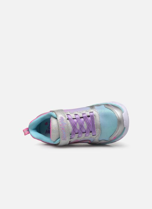 Deportivas Skechers Heart Lights Multicolor vista lateral izquierda