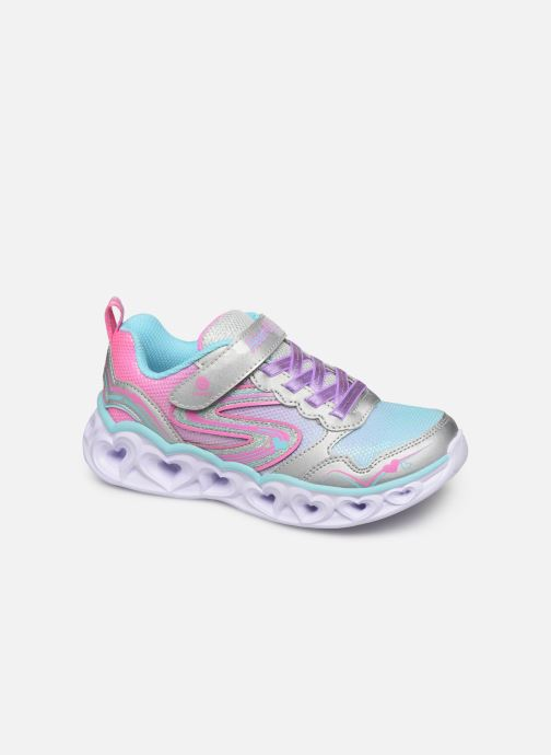 Deportivas Skechers Heart Lights Multicolor vista de detalle / par