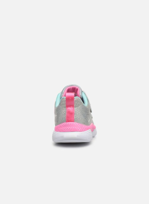 Chaussures de sport Skechers Move 'N Groove Argent vue droite
