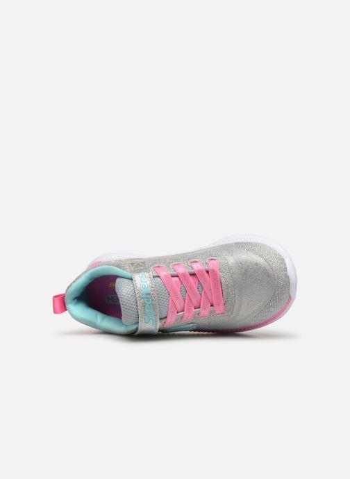 Zapatillas de deporte Skechers Move 'N Groove Plateado vista lateral izquierda