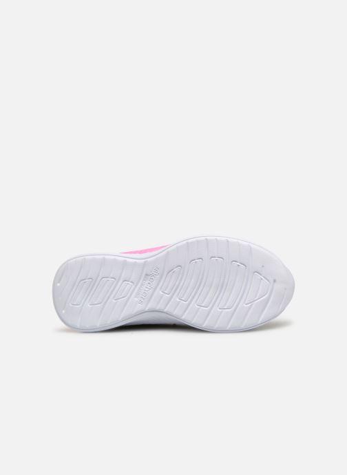 Chaussures de sport Skechers Move 'N Groove Argent vue haut