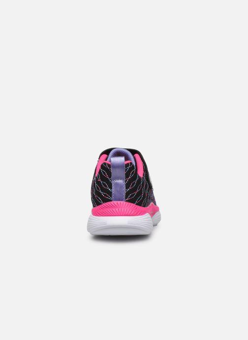 Scarpe sportive Skechers Move 'N Groove Nero immagine destra