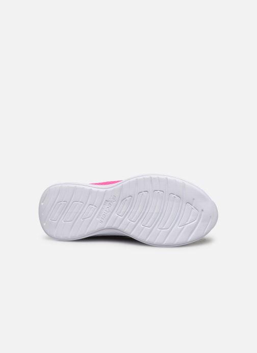 Chaussures de sport Skechers Move 'N Groove Noir vue haut