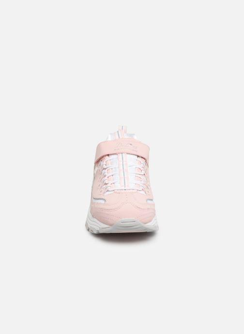 Sneaker Skechers D'Lites Crowd Appeal rosa schuhe getragen