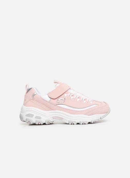 Sneaker Skechers D'Lites Crowd Appeal rosa ansicht von hinten