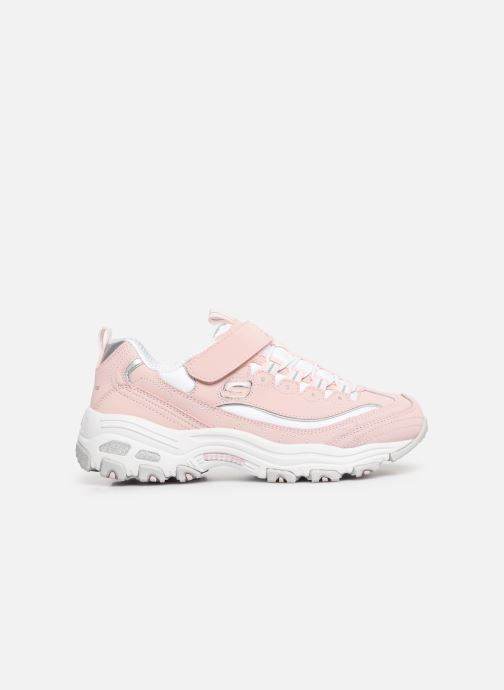 Trainers Skechers D'Lites Crowd Appeal Pink back view