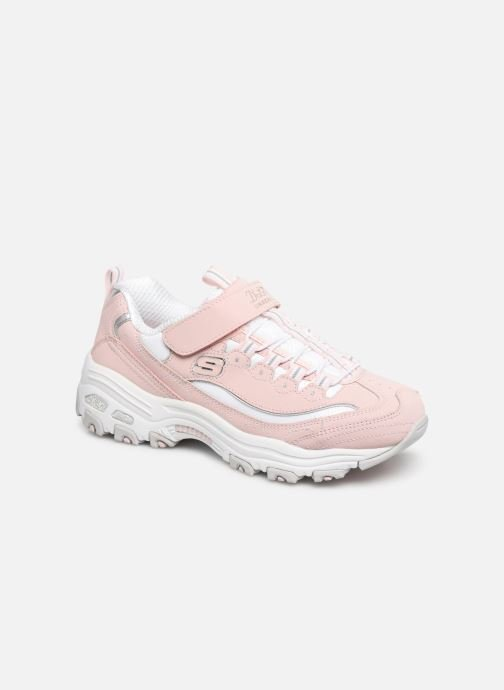 Trainers Skechers D'Lites Crowd Appeal Pink detailed view/ Pair view
