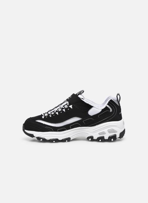 Baskets Skechers D'Lites Crowd Appeal Noir vue face