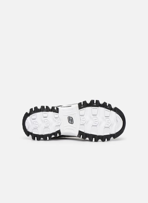 Baskets Skechers D'Lites Crowd Appeal Noir vue haut