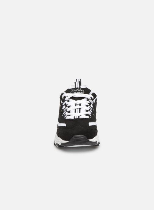 Sneaker Skechers D'Lites Biggest Fan schwarz schuhe getragen