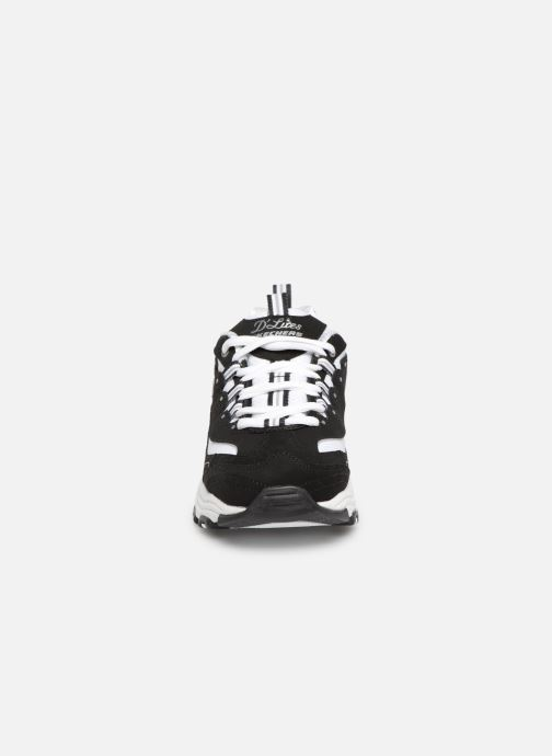 Baskets Skechers D'Lites Biggest Fan Noir vue portées chaussures