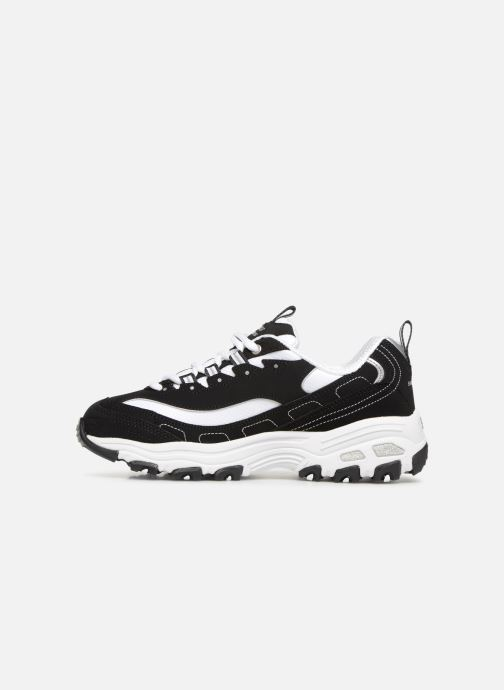 Baskets Skechers D'Lites Biggest Fan Noir vue face