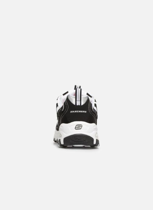 Sneaker Skechers D'Lites Biggest Fan schwarz ansicht von rechts