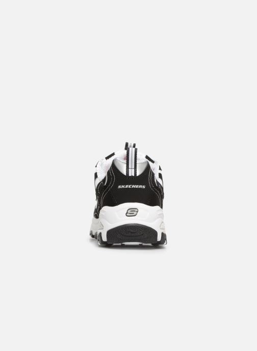 Baskets Skechers D'Lites Biggest Fan Noir vue droite