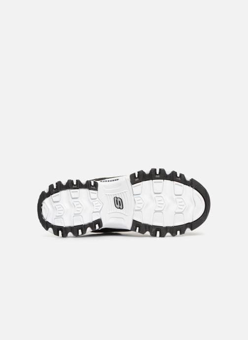 Sneaker Skechers D'Lites Biggest Fan schwarz ansicht von oben