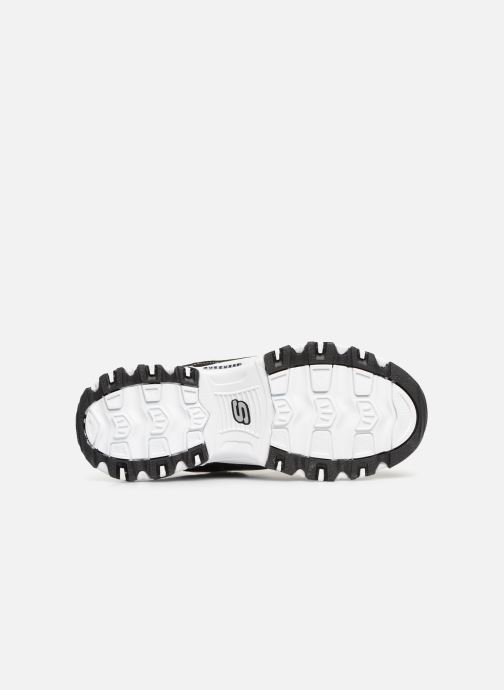 Baskets Skechers D'Lites Biggest Fan Noir vue haut