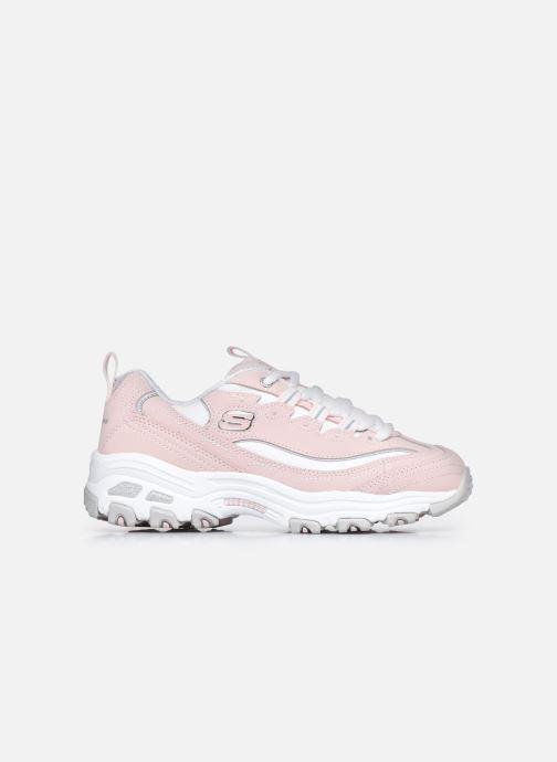 Sneaker Skechers D'Lites Biggest Fan rosa ansicht von hinten