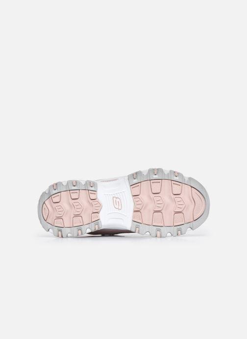 Sneaker Skechers D'Lites Biggest Fan rosa ansicht von oben