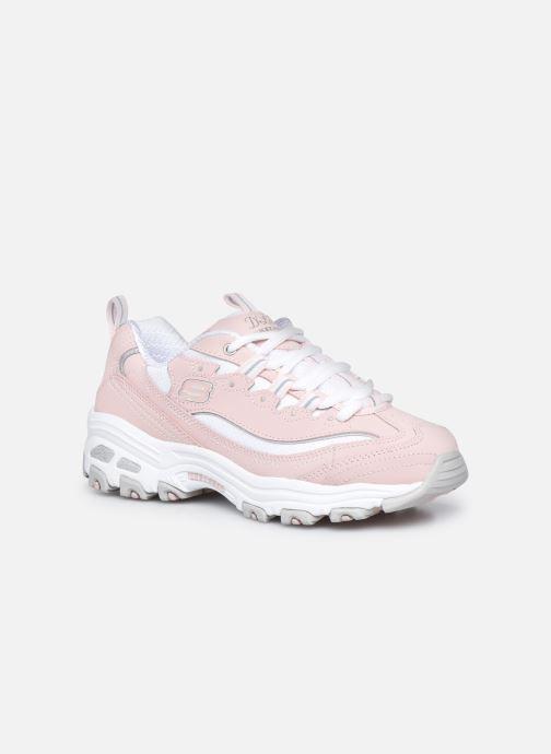 Sneaker Skechers D'Lites Biggest Fan rosa detaillierte ansicht/modell