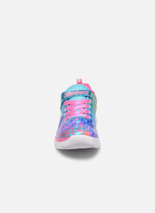 Chaussures de sport Skechers Wavy Lites Multicolore vue portées chaussures
