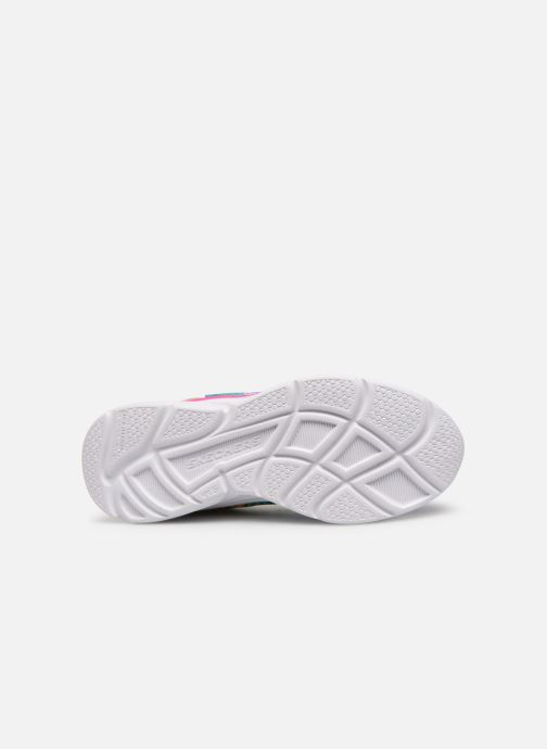 Chaussures de sport Skechers Wavy Lites Multicolore vue haut