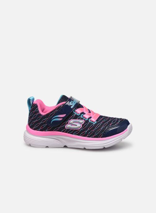 Chaussures de sport Skechers Wavy Lites Bleu vue derrière
