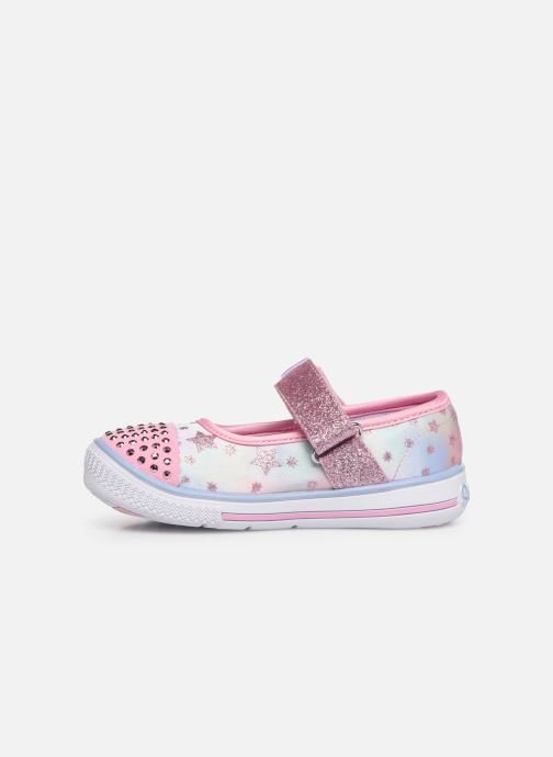 Ballerines Skechers Twinkle Play Starry Sparks Argent vue face