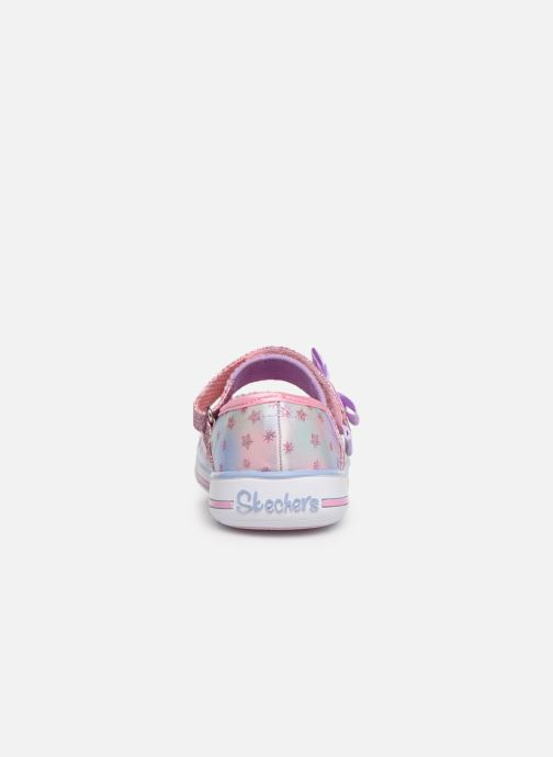 Ballerines Skechers Twinkle Play Starry Sparks Argent vue droite