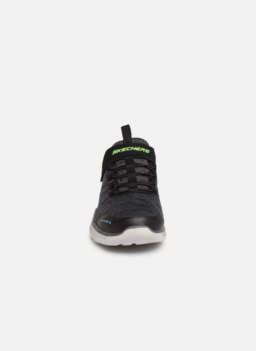 Chaussures de sport Skechers Equalizer 3.0 Aquablast Gris vue portées chaussures