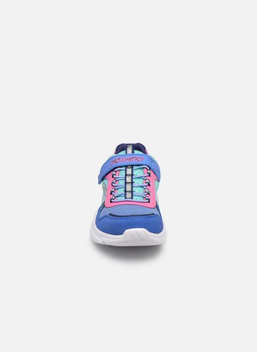 Chaussures de sport Skechers Meridian Bleu vue portées chaussures
