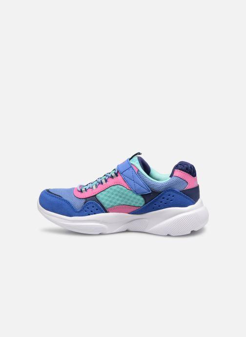 Chaussures de sport Skechers Meridian Bleu vue face