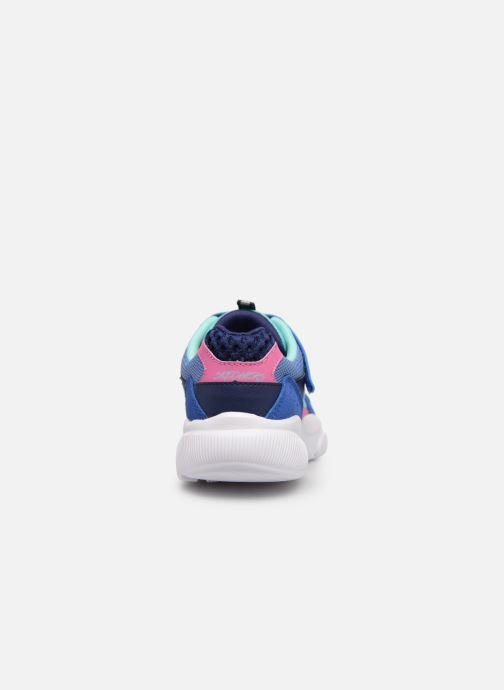 Chaussures de sport Skechers Meridian Bleu vue droite