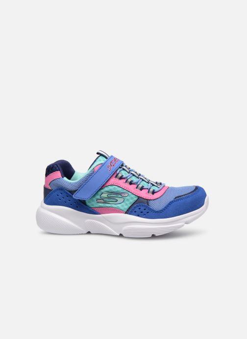 Chaussures de sport Skechers Meridian Bleu vue derrière