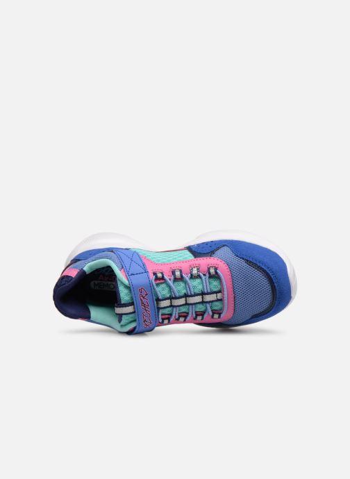 Chaussures de sport Skechers Meridian Bleu vue gauche