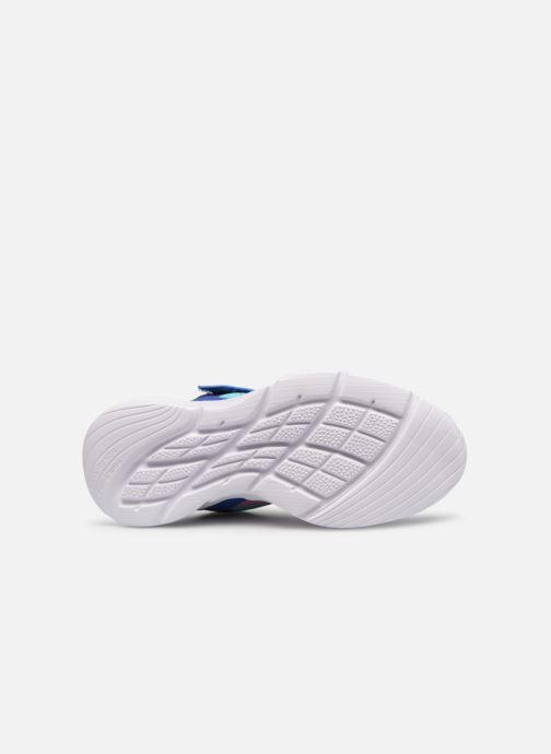Chaussures de sport Skechers Meridian Bleu vue haut