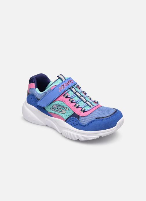 Chaussures de sport Skechers Meridian Bleu vue détail/paire
