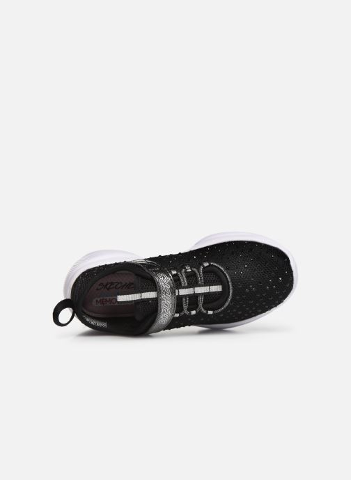 Sport shoes Skechers Meridian Black view from the left