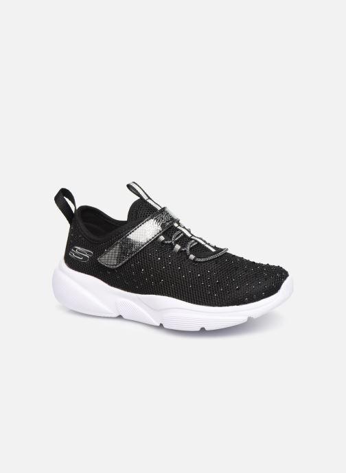 Sportssko Skechers Meridian Sort detaljeret billede af skoene