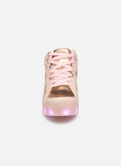 Baskets Skechers E-Pro Ii Lavish Lights Rose vue portées chaussures