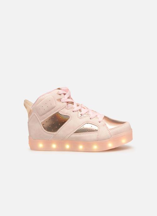 Baskets Skechers E-Pro Ii Lavish Lights Rose vue derrière