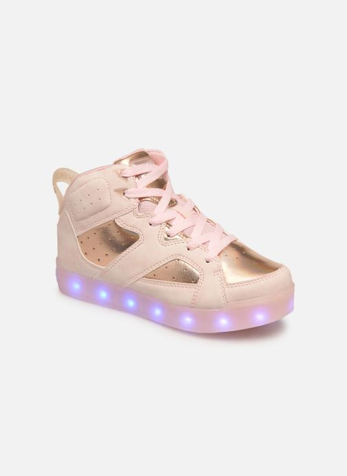 Baskets Skechers E-Pro Ii Lavish Lights Rose vue détail/paire