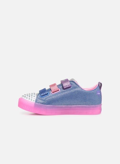 Sneakers Skechers Shuffle Brights Rainbow Glow Multicolor voorkant