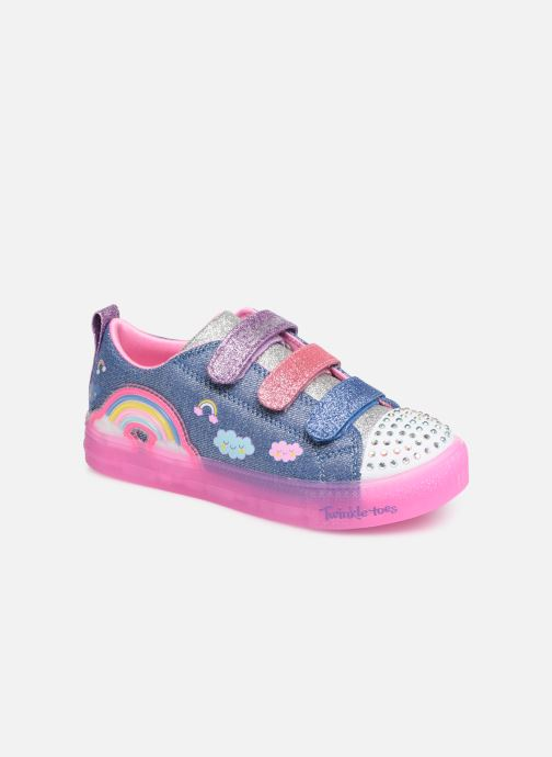 Trainers Skechers Shuffle Brights Rainbow Glow Multicolor detailed view/ Pair view