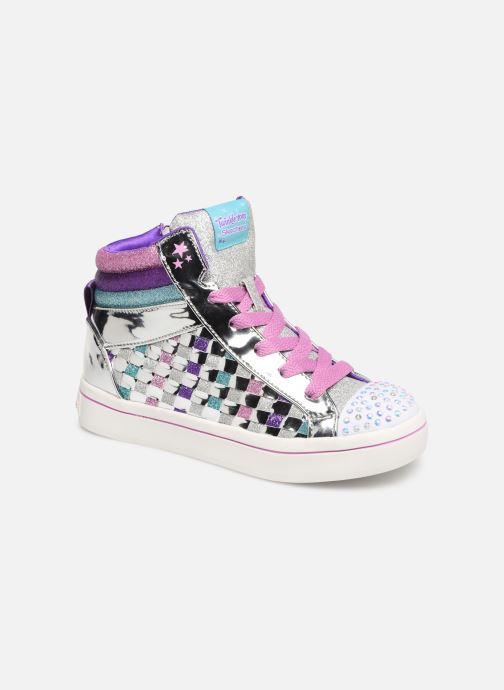 Sneakers Skechers Twi-Lites Sparkle Status Zilver detail