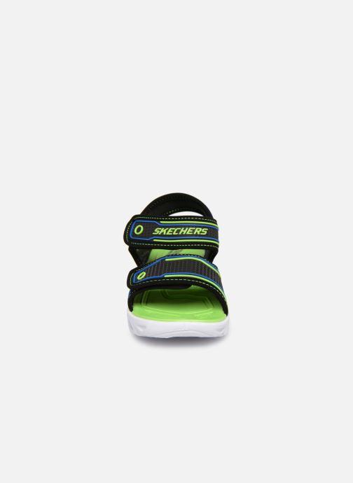 Sandalias Skechers Hypno-Splash Negro vista del modelo