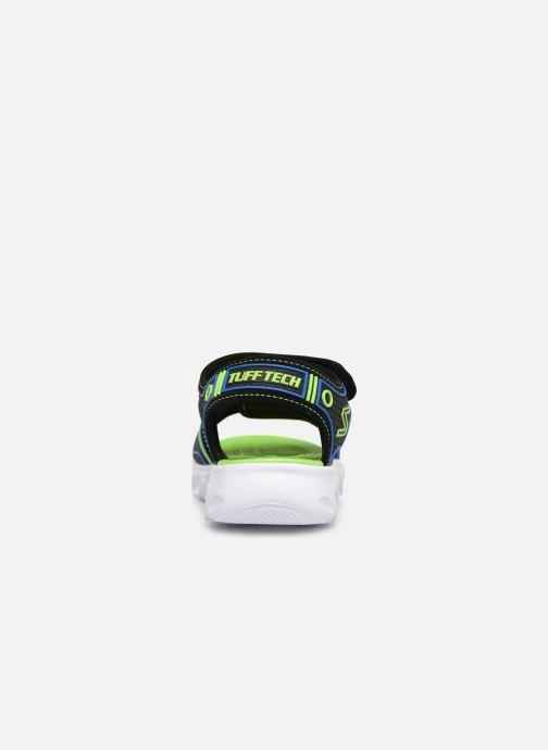 Sandalias Skechers Hypno-Splash Negro vista lateral derecha