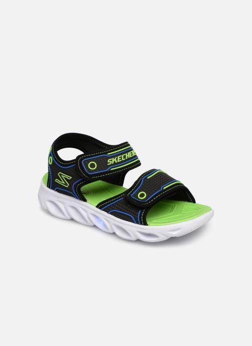 Sandaler Skechers Hypno-Splash Sort detaljeret billede af skoene
