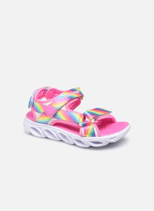 Sandalias Skechers Hypno-Splash Rosa vista de detalle / par