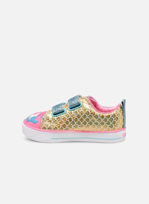 Sneakers Skechers Shuffle Lite Mermaid Parade Zilver voorkant