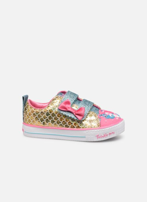 Sneakers Skechers Shuffle Lite Mermaid Parade Zilver achterkant